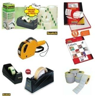 etichette adesive, prezzatrici e accessori