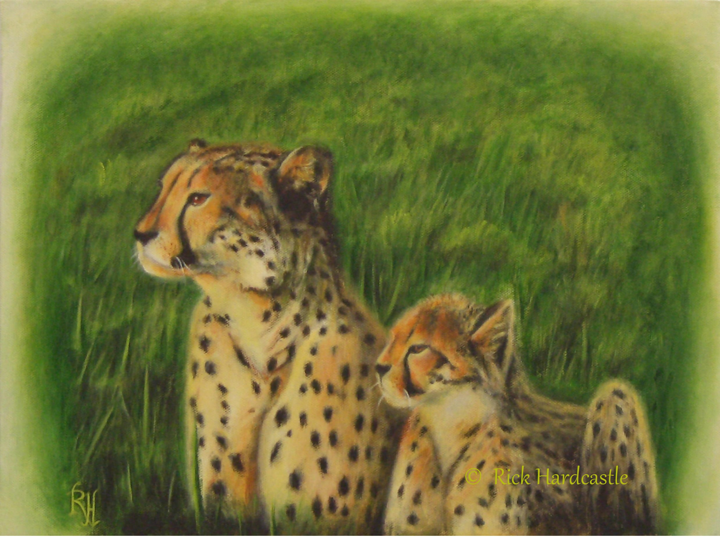 wildlife art, wildlife painting
