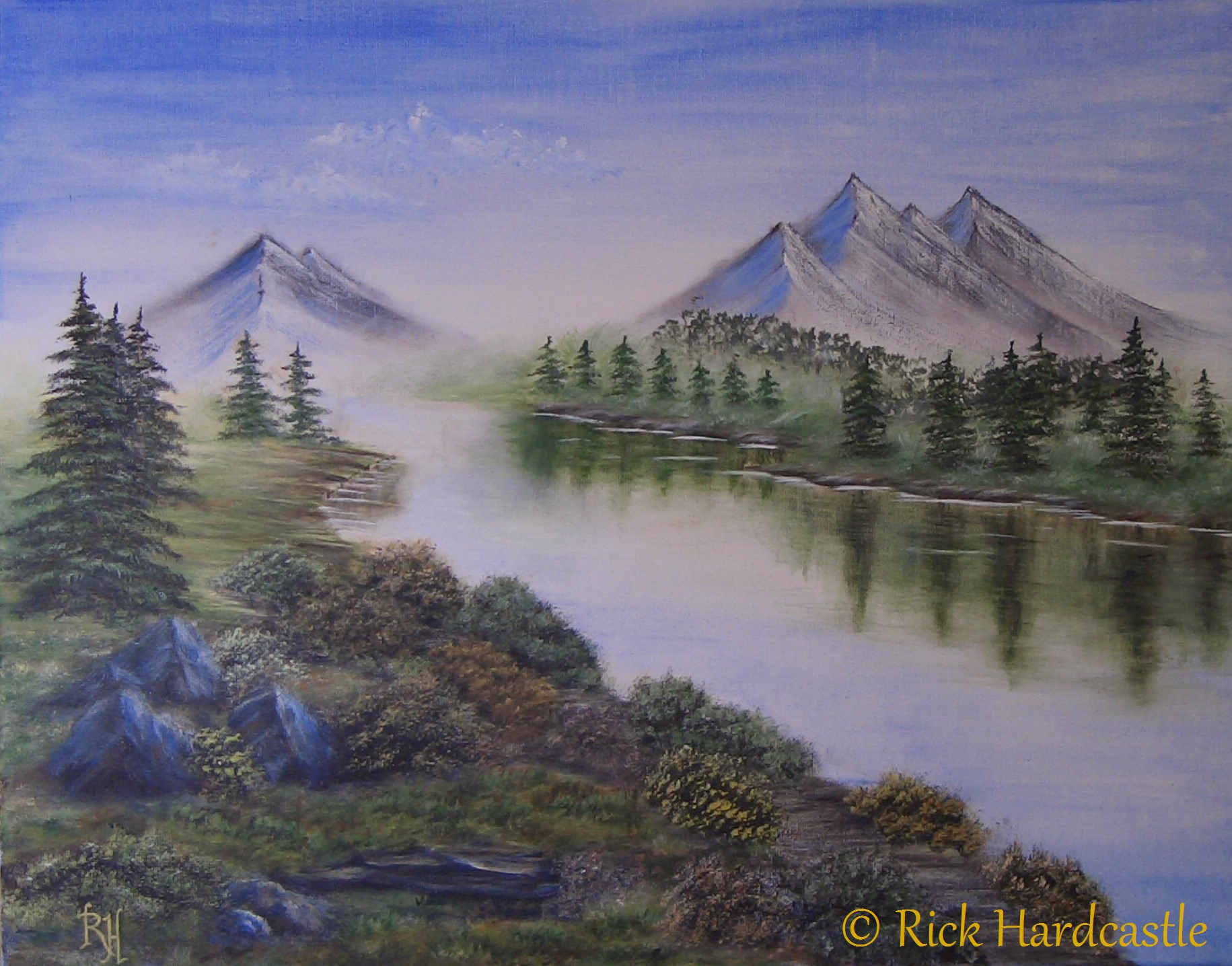 landscape painting, landscape art
