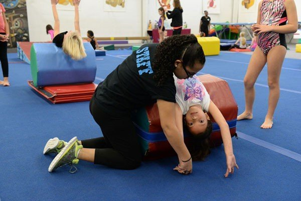 how to teach yourself a back handspring