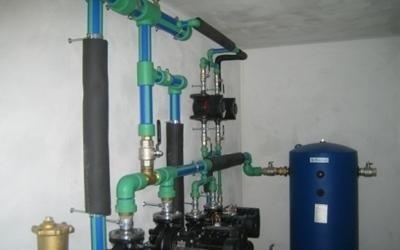 montaggio centrale termica