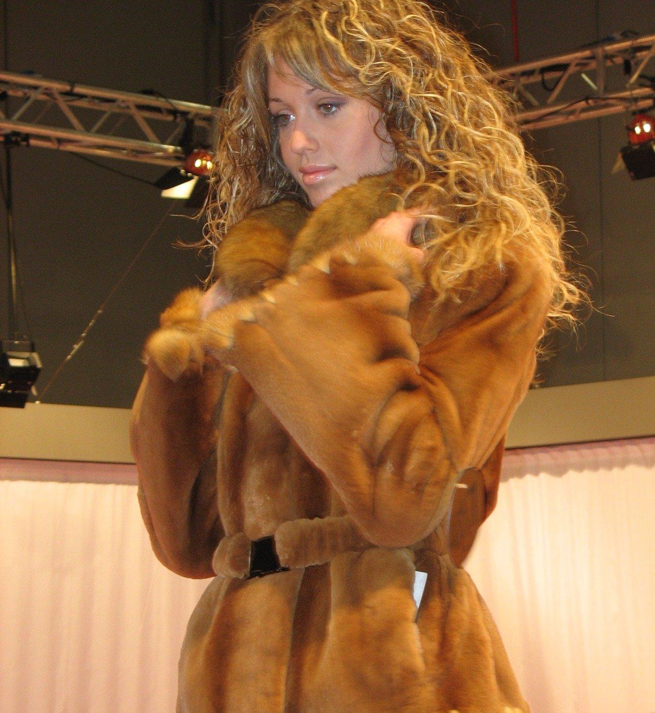 sfilata di pellicce
