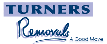 TURNERS Removals logo