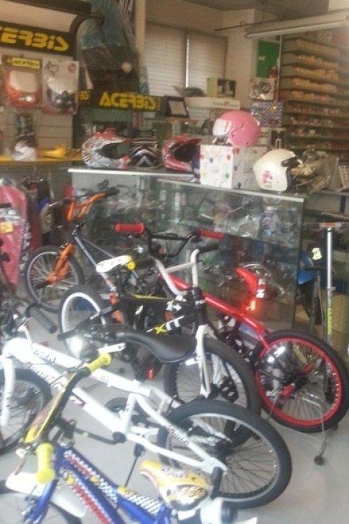 caschi per biciclette