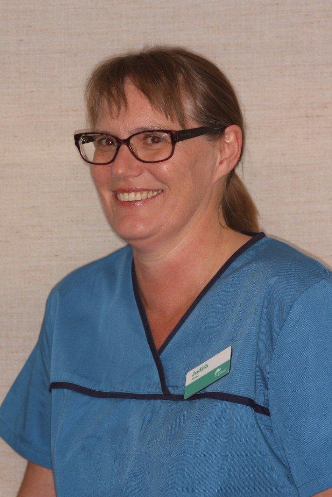 Dental nurse Judith
