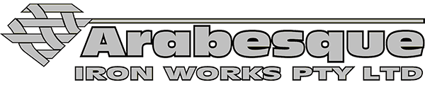 arabesque iron works pty ltd logo