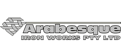 arabesque iron works pty ltd footer logo