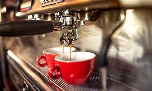 due tazze di caffè espresso