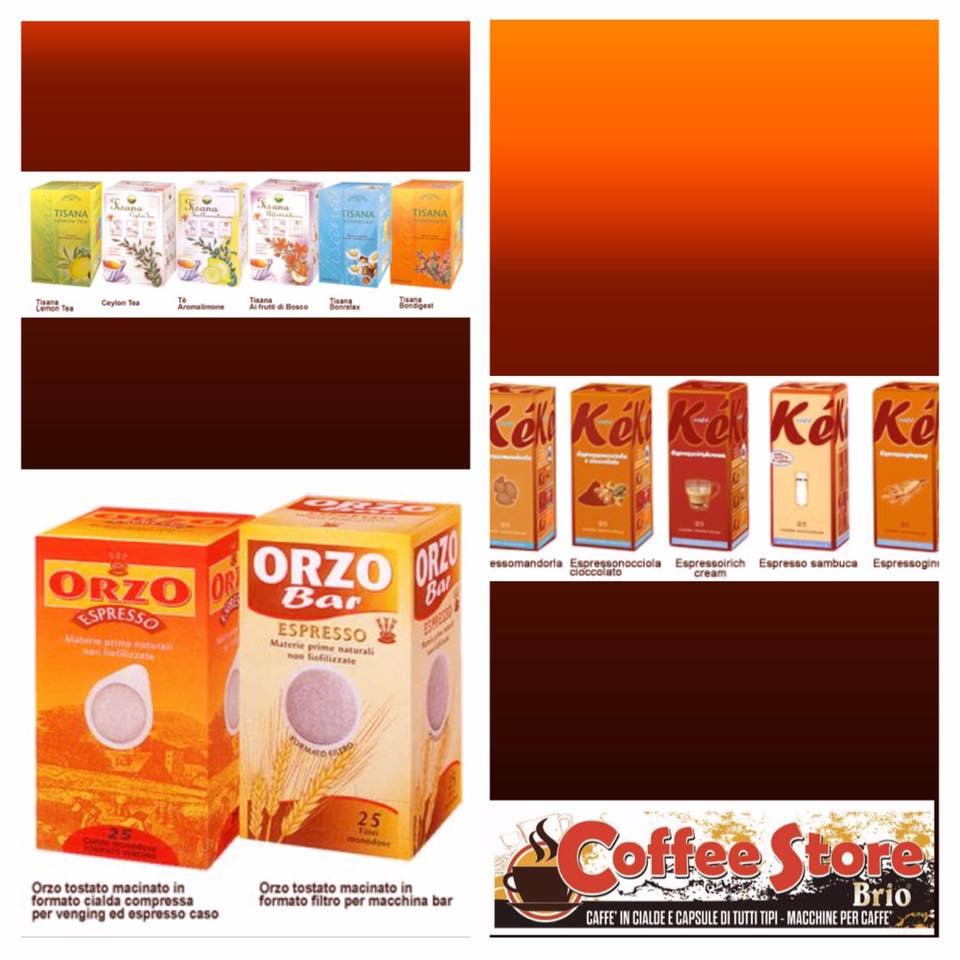 confezioni di capsule di Orzo