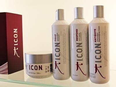 prodotti per capelli Icon