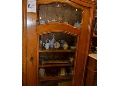 Armadio vetrina fine Ottocento