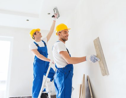 Premier painting team in Hamilton at work