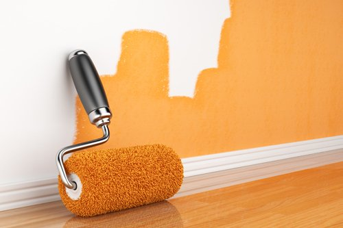 Roller used for providing the painting services in Hamilton