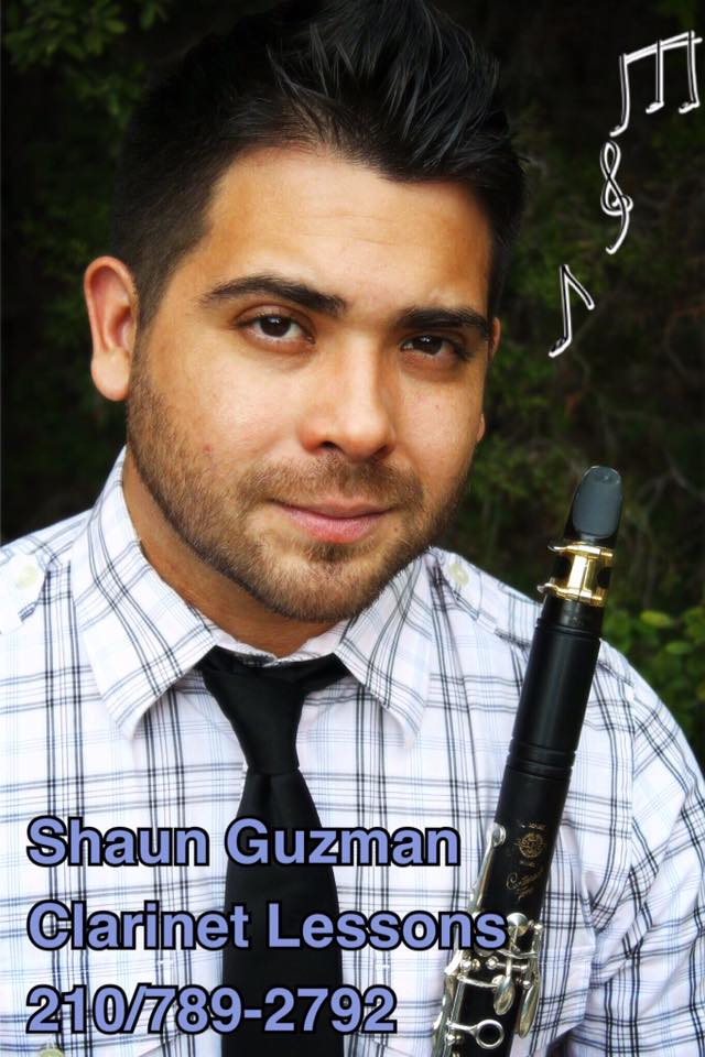 Shaun Guzman - Clarinet Lessons - San Antonio