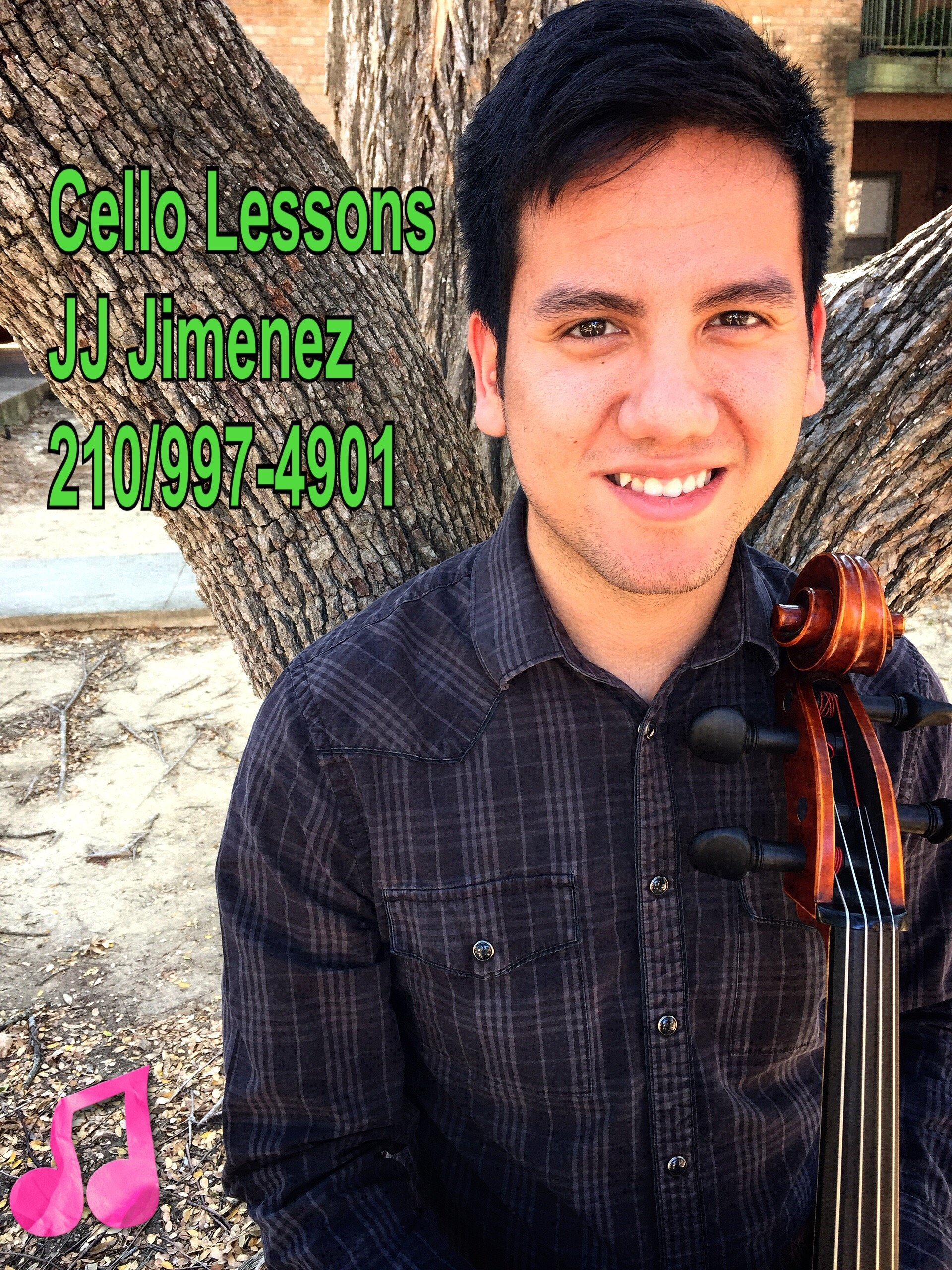 JJ Jimenez - Cello Lessons