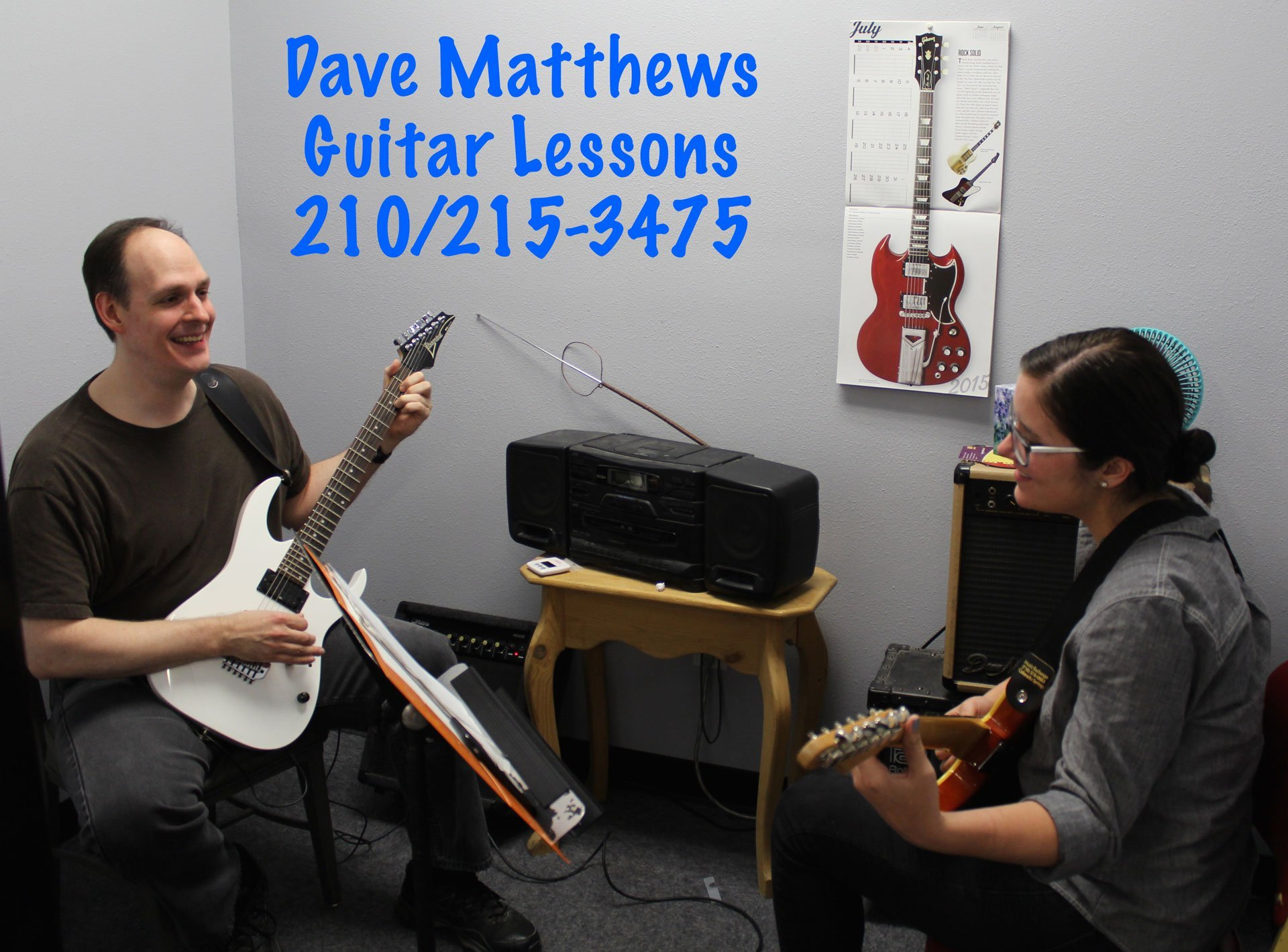 Dave Matthews - Guitar Lessons