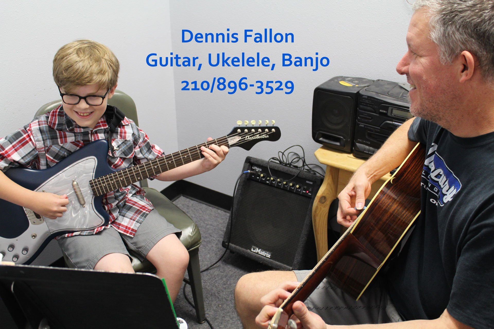Dennis Fallon - Guitar, Ukelele Lessons