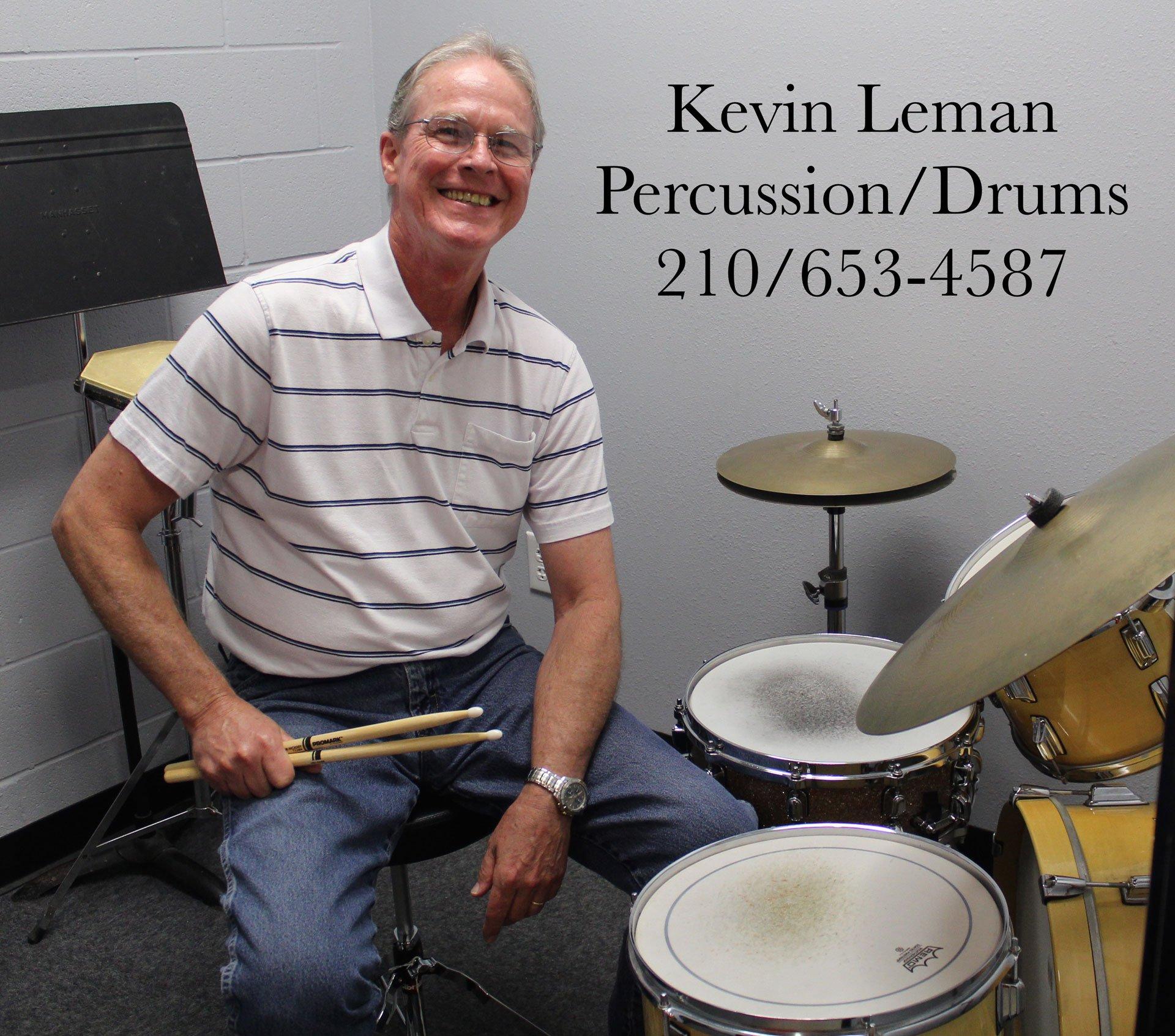 Kevin Leman - Drum Lessons - San Antonio