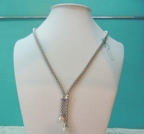 collana in oro bianco e perle, collier in oro giallo, collane in oro
