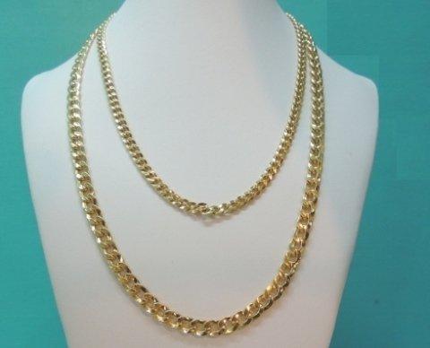 collana in oro giallo, collier in oro giallo, collane in oro
