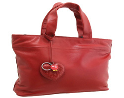 Isolated image of a red purse