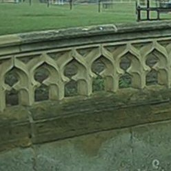 Tracery balustrade