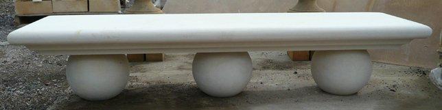 Sphere base bench