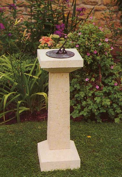 Tall slim pedestal