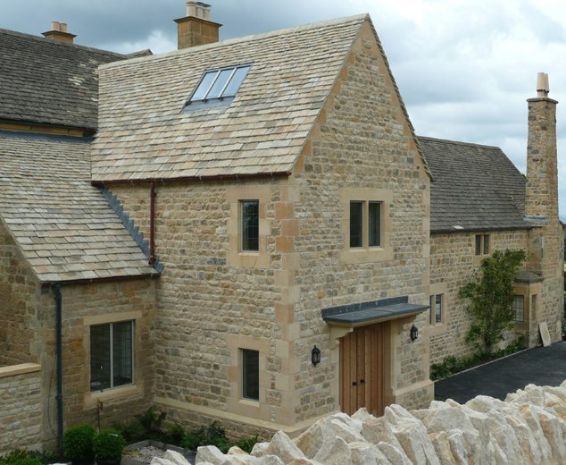 Reclaimed building stone