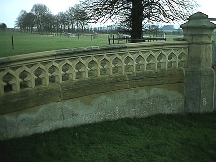 Tracery balusters