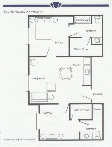 2 bedroom apartments for seniors in arkansas