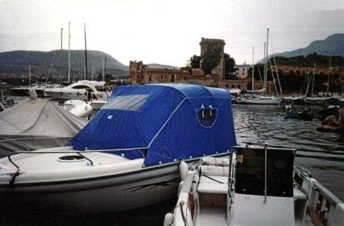 Tenda da campeggio nautico