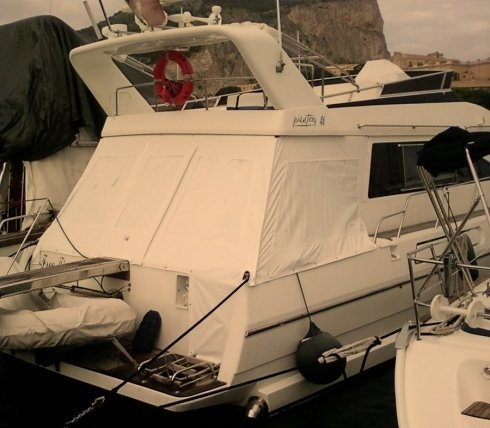 Spray hood per barche