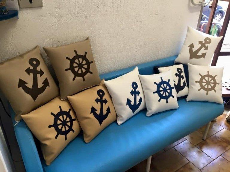 cuscini per barca su misura
