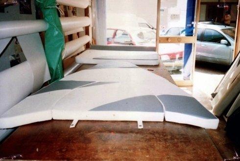 Realizzazione tappezzerie per yacht
