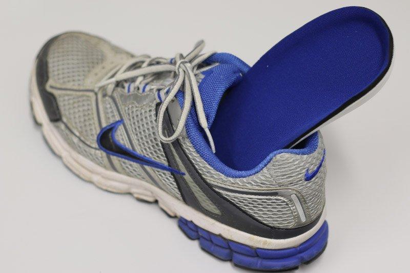 podiatrist cleaning feet