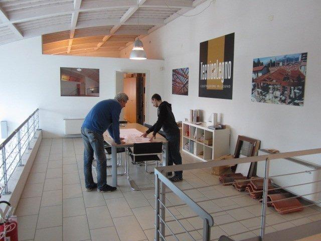 La nostra sede a Lugagnano di Sona-Tecnica Legno