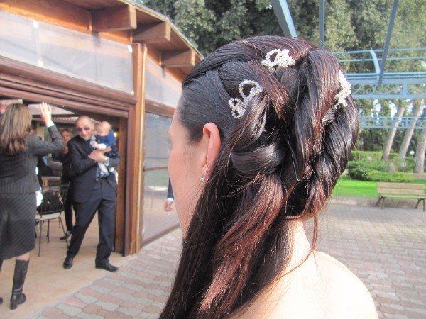 capelli con trecce