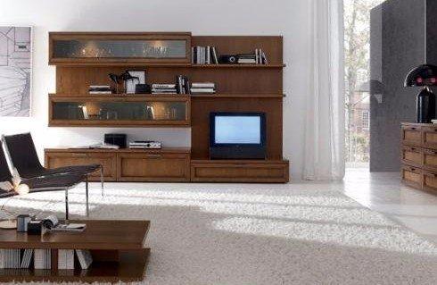 Mobili legno soggiorno