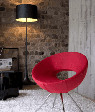 Poltroncina rossa