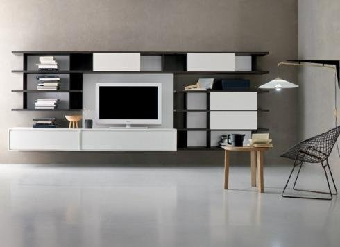 Montaggio mobili soggiorno di design