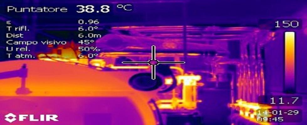 Termografia industriale