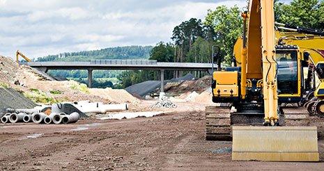 Construction of new motorway