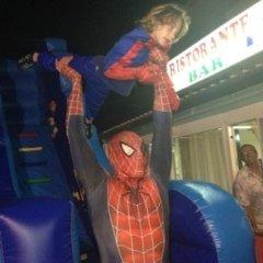 festa con spiderman
