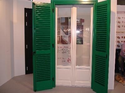 Portafinestra e persiana De Carlo