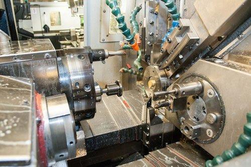 dei macchinari industriali visti da vicino