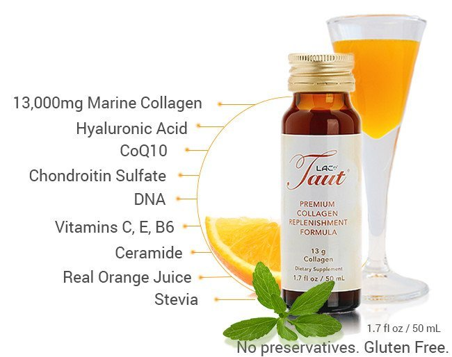 Collagen drinks, along with complimenting key ingredients, boost collagen production in your skin. | RenewAlliance
