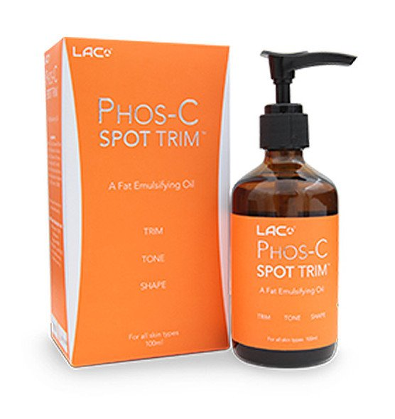 Target problem areas, such as cellulite and stubborn fat, with a spot treatment, LAC Phos-C Spot Trim.