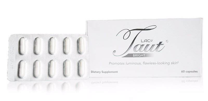 LAC Taut® Bright contains a powerful blend of antioxidants that helps remove age spots.