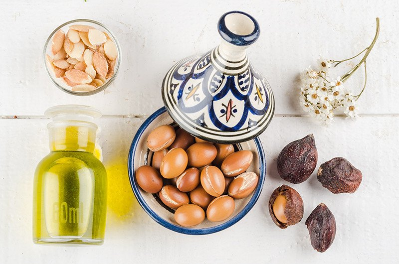 Moisturize your hair and skin with argan oil